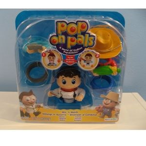 Pop on Pals 2-in-1 Mix 'n Match Fun-Doctor/Farmer